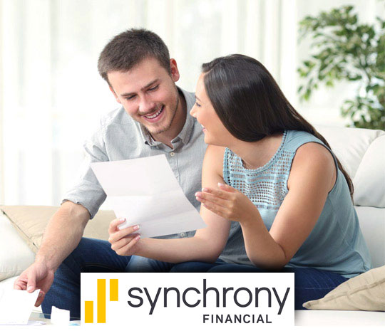 Stout's HVAC offers financing through synchrony.