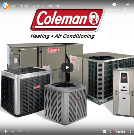 Coleman HVAC dealer in Santa Rosa, CA.