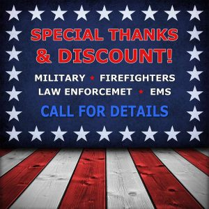 Military & First Responders HVAC Discount offered by Stout's Heating & Air Conditioning.