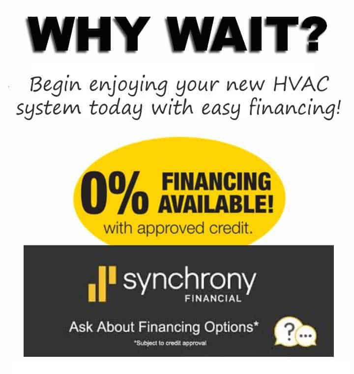 Finance HVAC in Santa Rosa, CA.